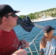 Pływanie po wodach Chorwacji