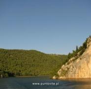 Przepiękny widok wód chorwackich