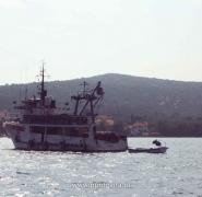 Statek w Chorwacji