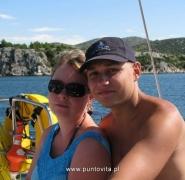 Para żeglarska - Chorwacja 2010